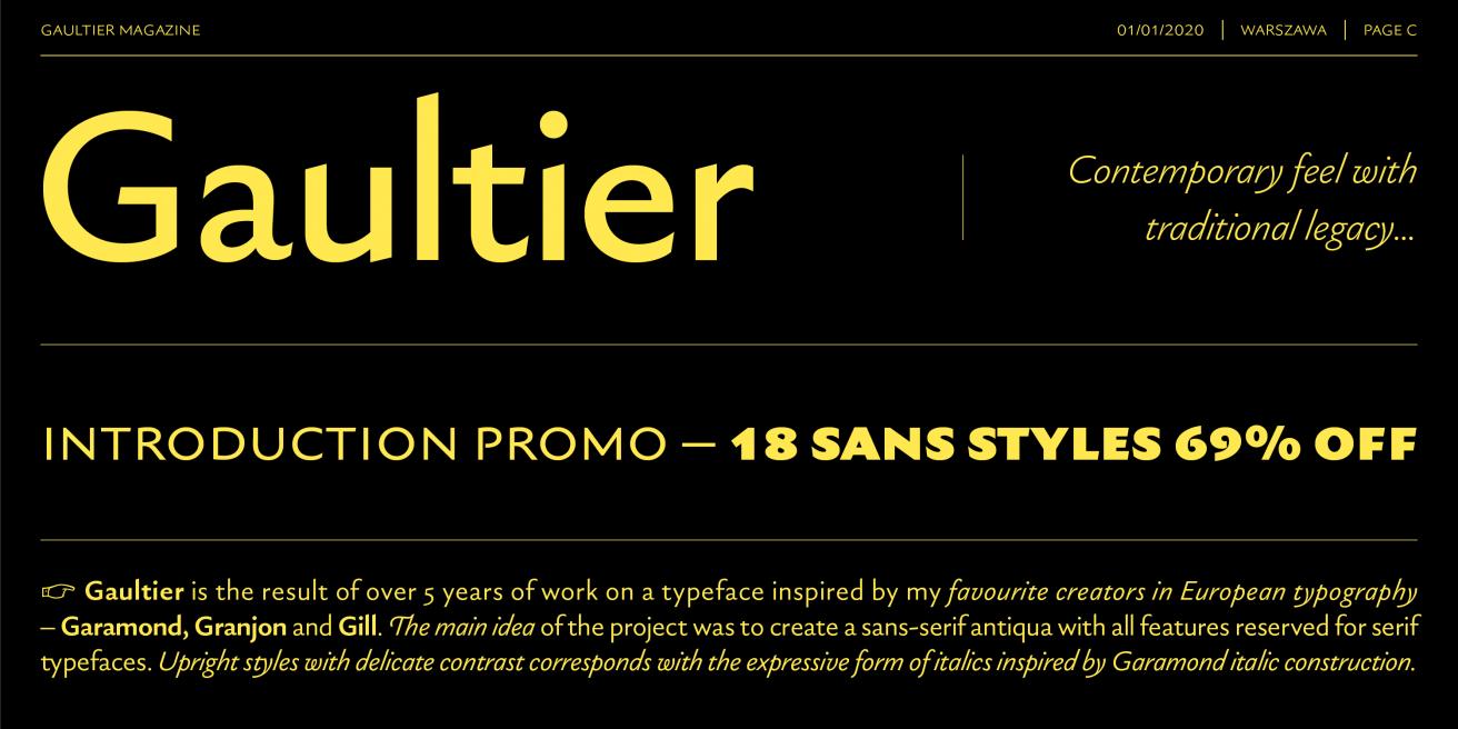 Gaultier Poster