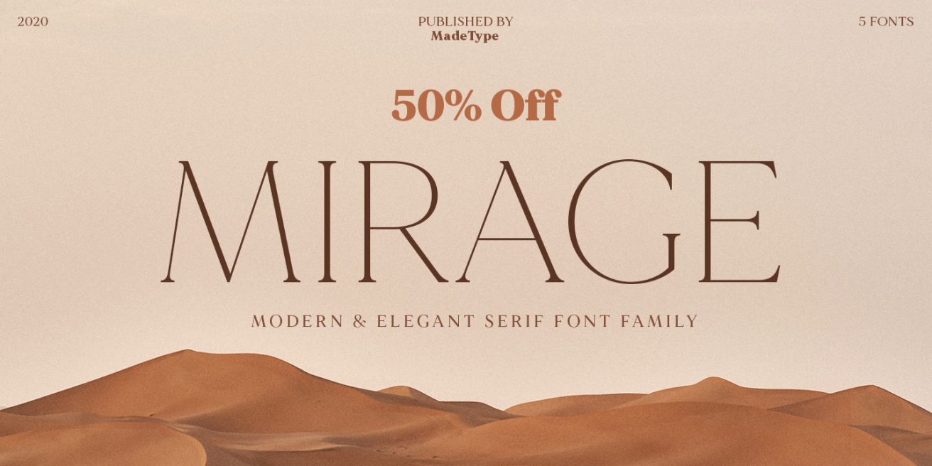 MADE Mirage Poster
