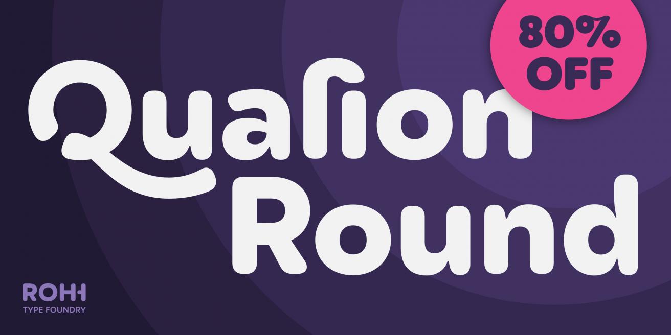 Qualion Round Poster
