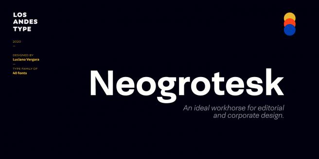 Neogrotesk Poster