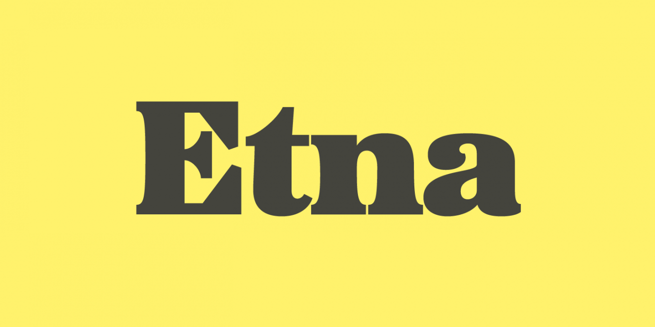 Etna Poster