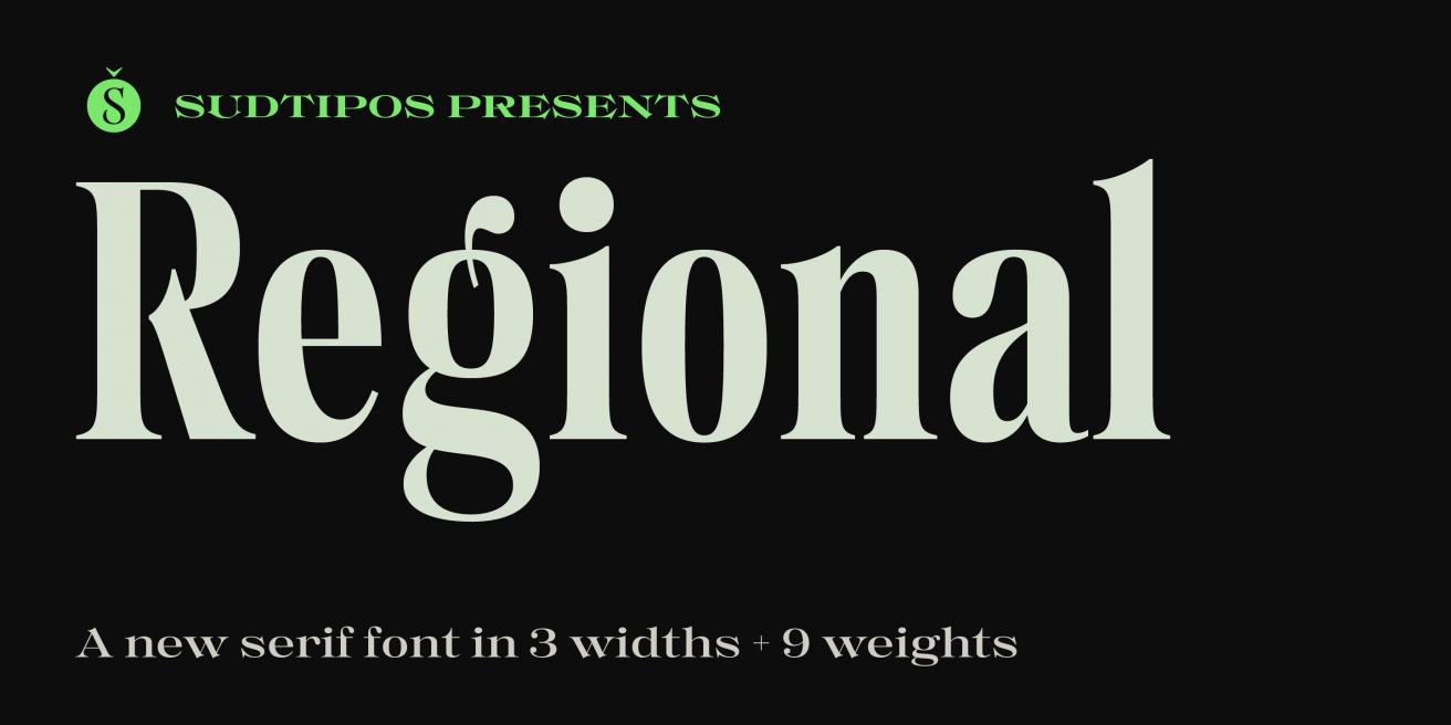 Regional Poster