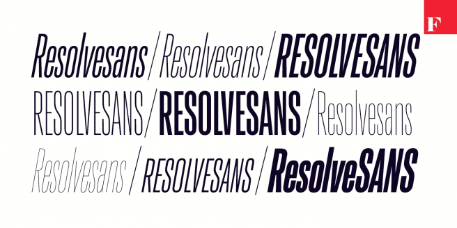Resolve Sans Poster2
