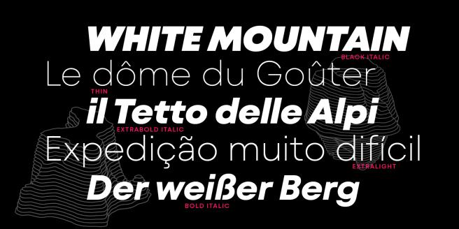 Mont Blanc Poster1