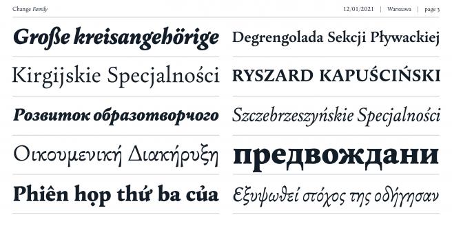 Change Serif Poster 2