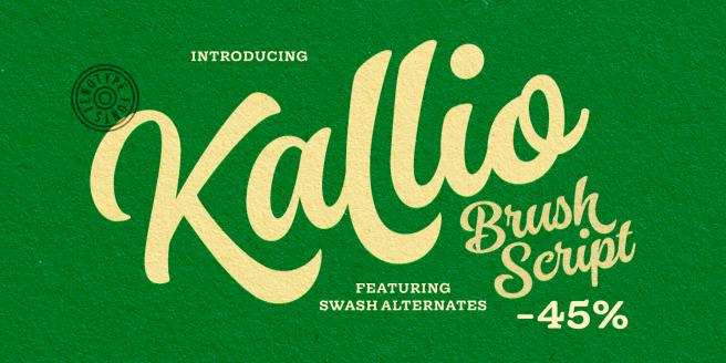 Kallio Brush Poster
