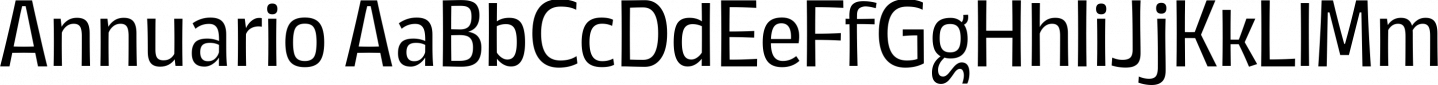 Annuario Sample Text