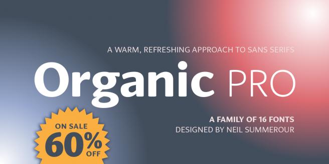 Organic Pro Poster