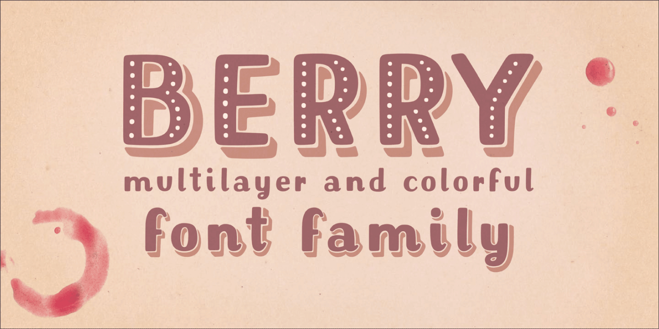 Mrs Berry Poster