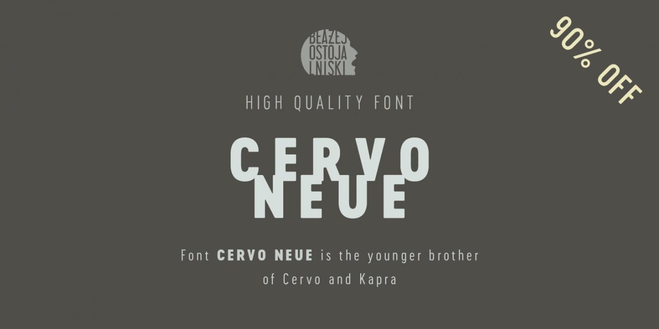 Cervo Neue Poster