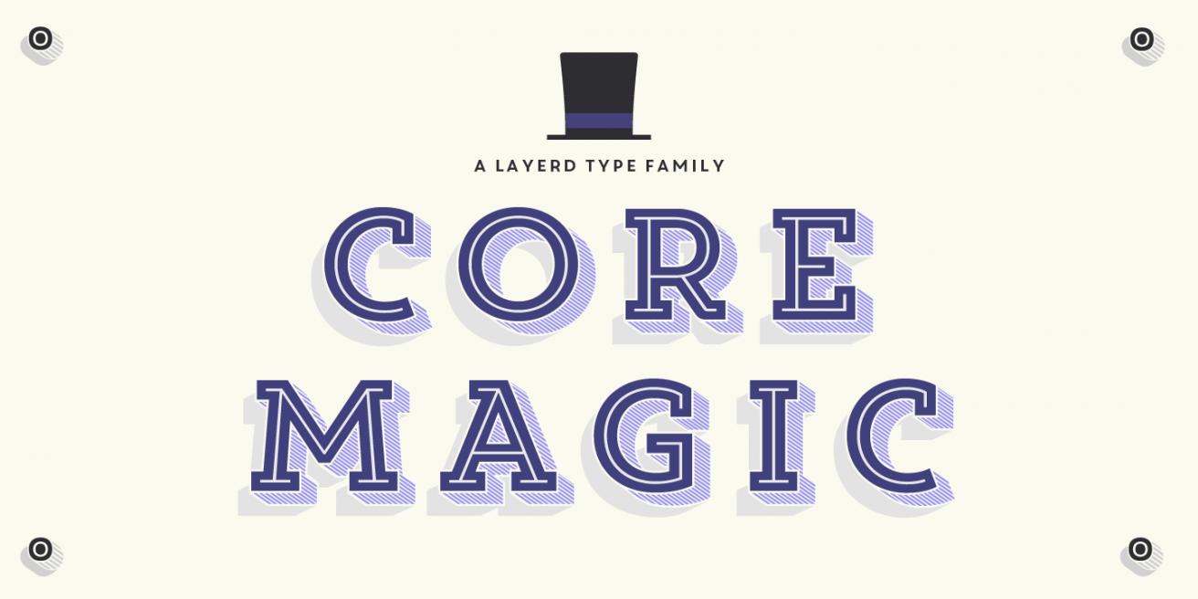 Core Magic Poster