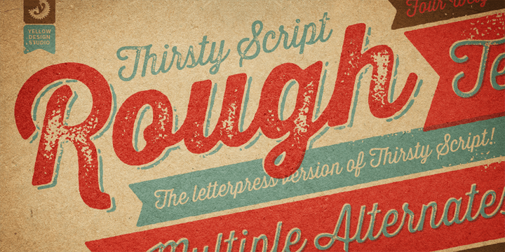Thirsty Rough Poster