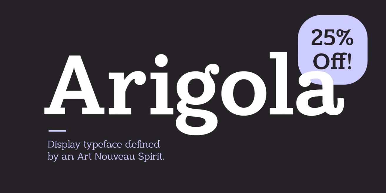 Arigola Poster