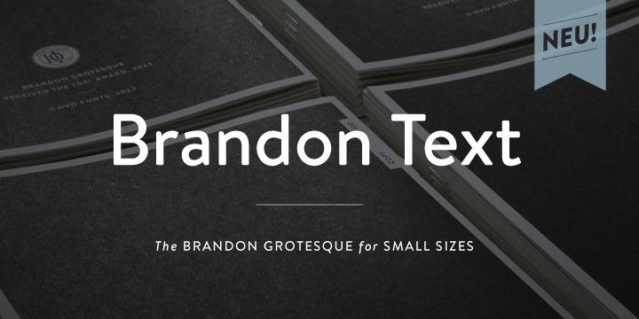 Brandon Text Poster