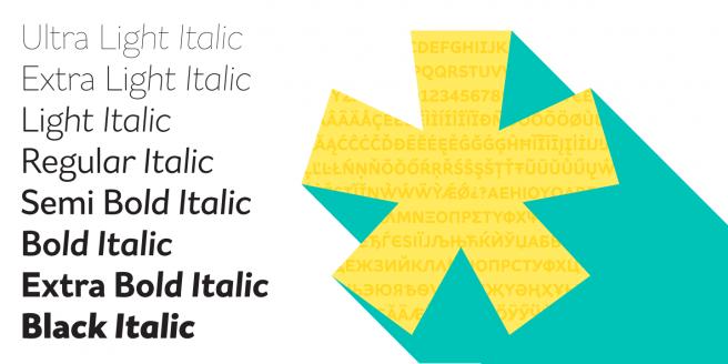 Asterisk Sans Pro Poster2