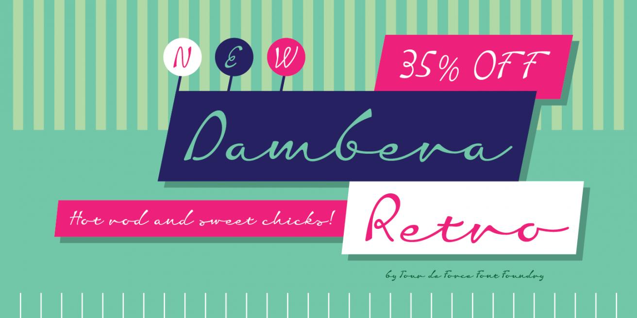 Dambera Retro Poster2