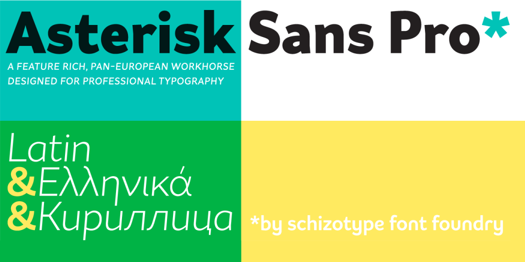 Schizotype Fonts Flash Sale - 57% off for only one more day! Poster1