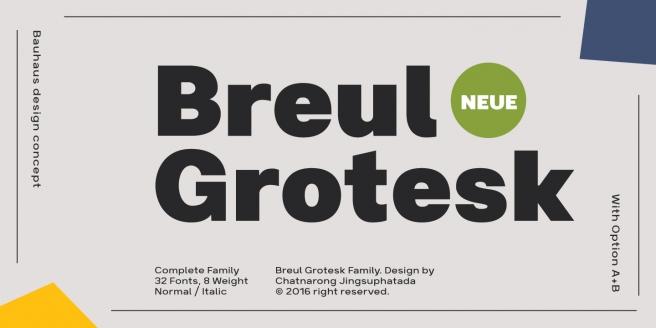 Breul Grotesk Poster1