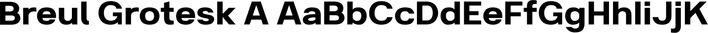 Breul Grotesk Sample Text
