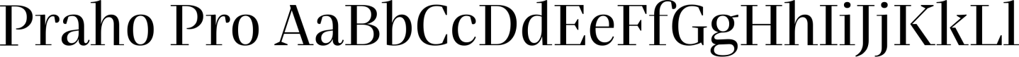 Praho Pro Sample Text