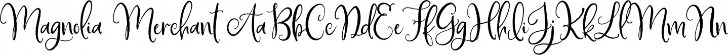 Magnolia Merchant Sample Text