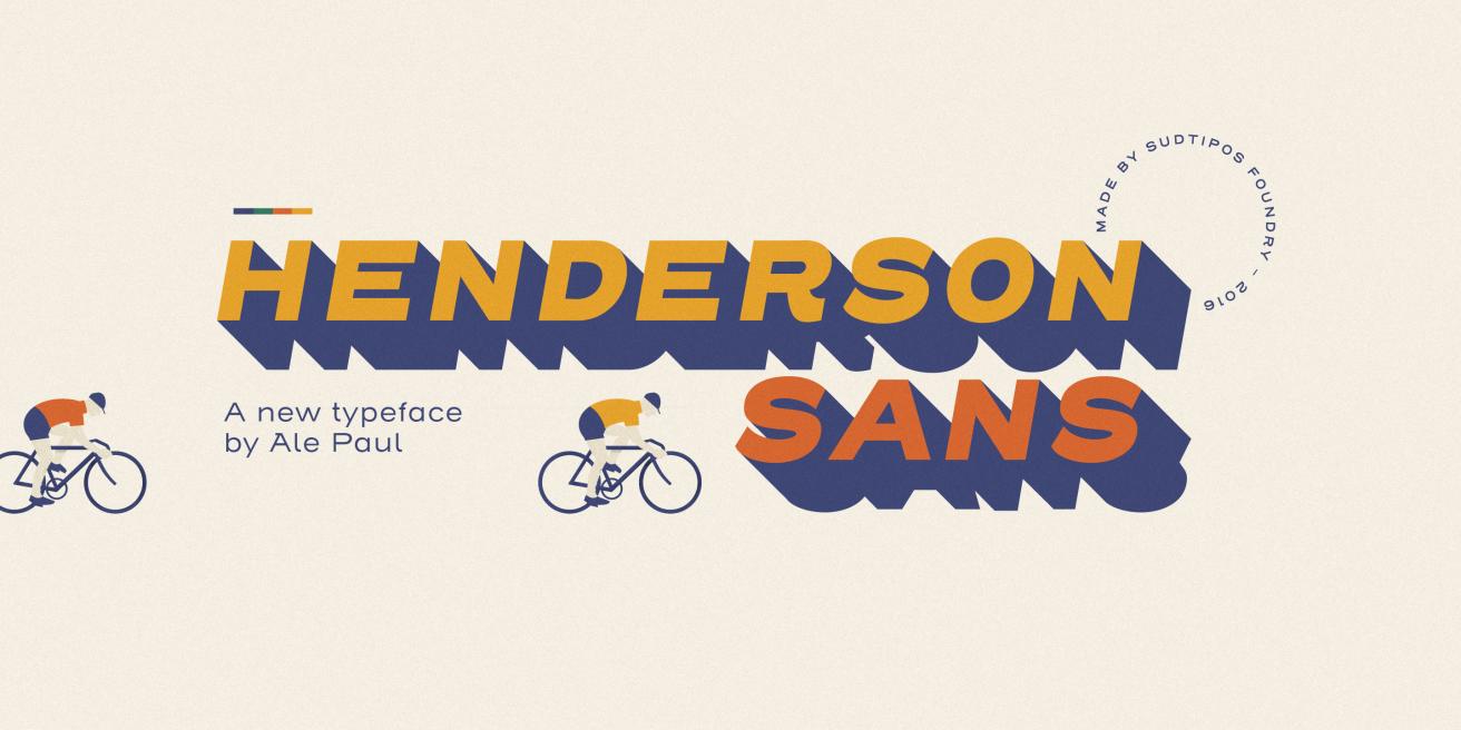 Henderson Sans Poster