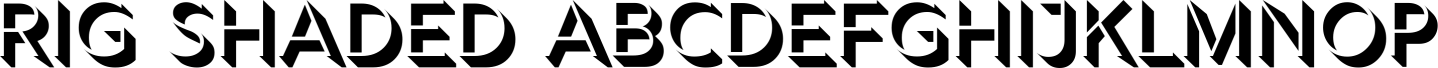 Rig Shaded Sample Text