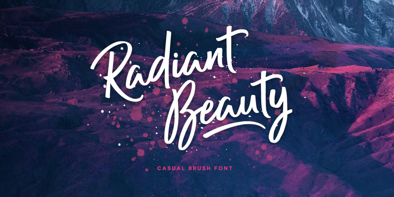 Radiant Beauty Poster
