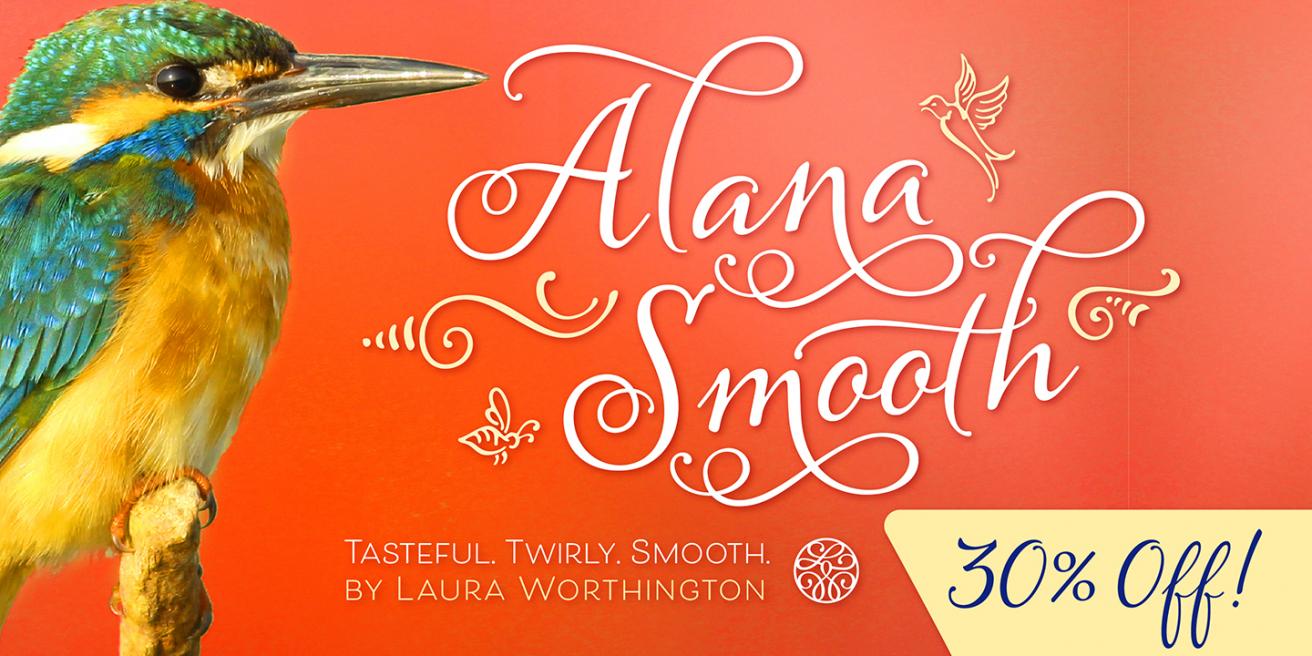 Alana Smooth Poster