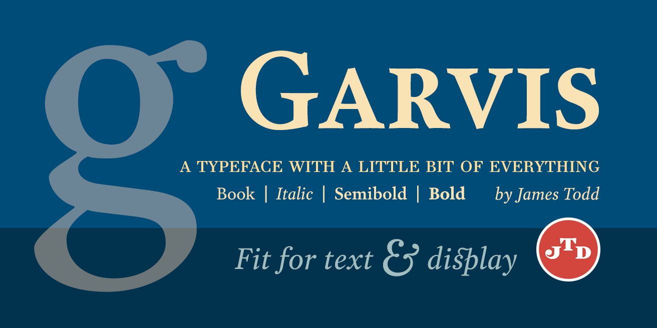 Garvis Pro Poster