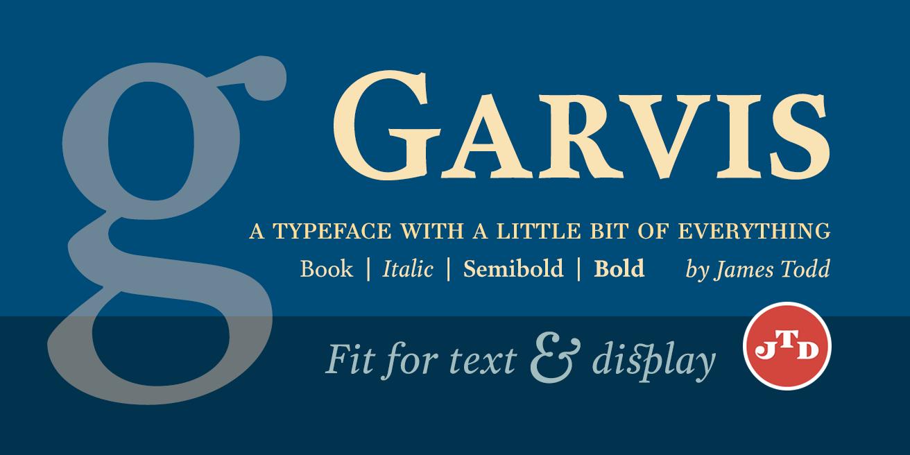 Garvis Pro Poster