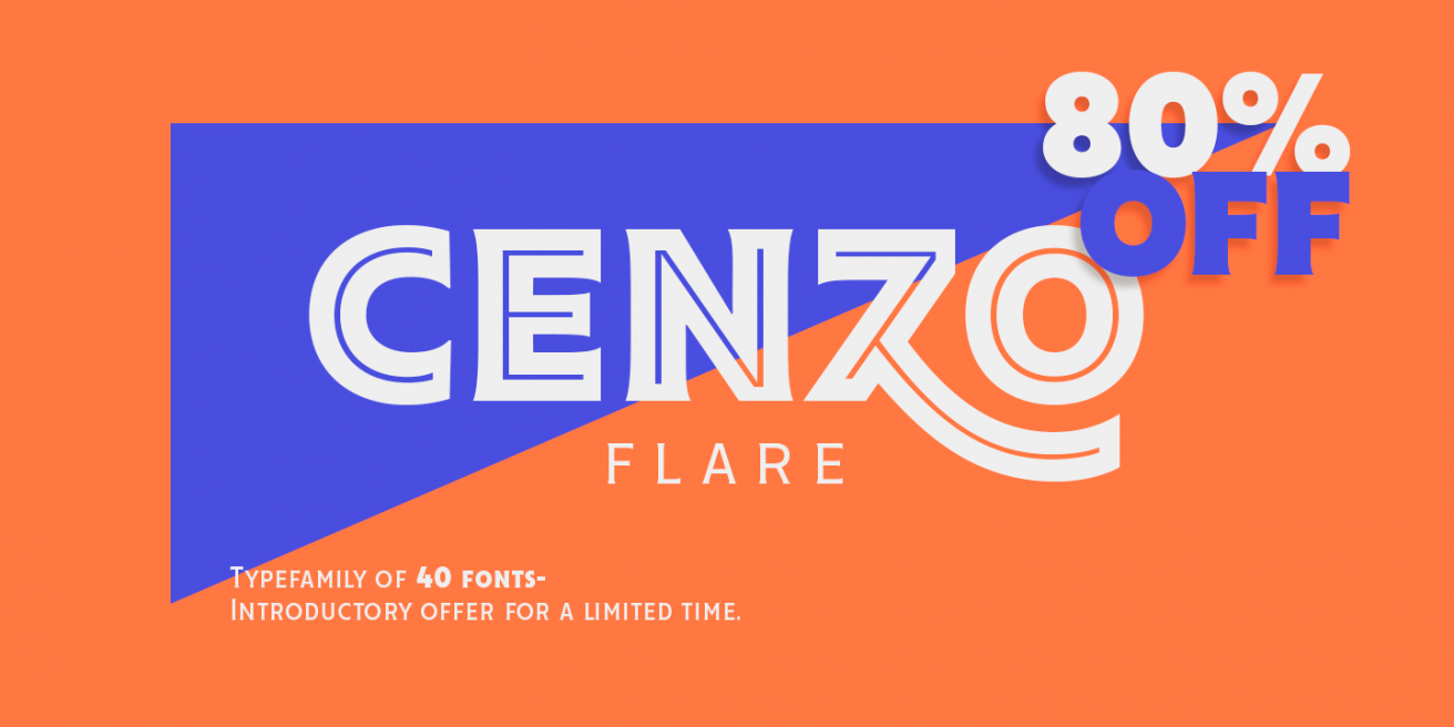 Cenzo Flare Poster