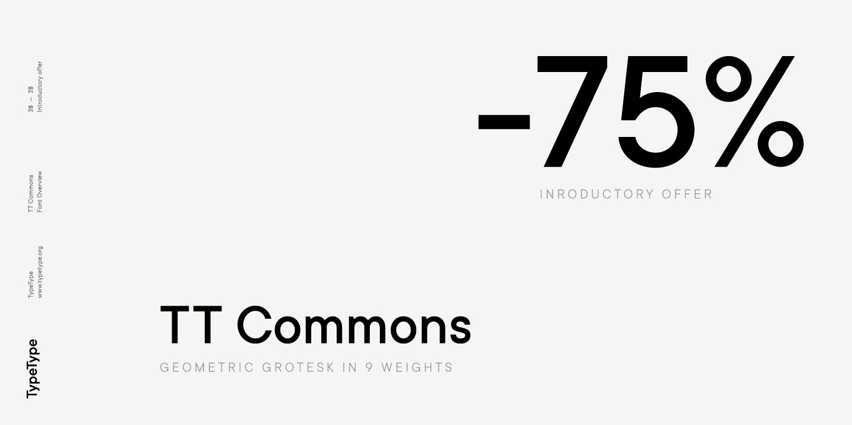 TT Commons Poster