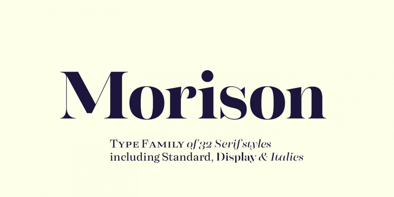 Morison Poster