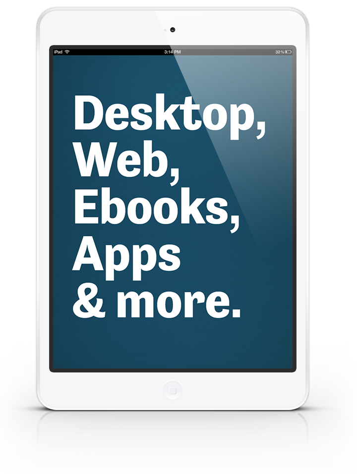 Desktop Web Ebook Apps