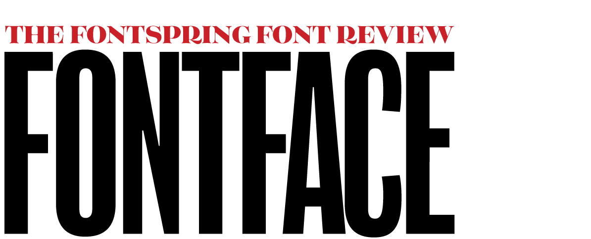 The Fontface Newsletter