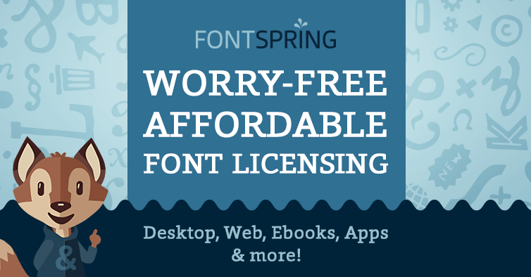 Fontspring  Worry-free fonts for everyone